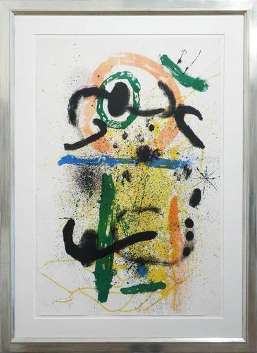 Joan MIRO - Print-Multiple - Pierrot Le Fou