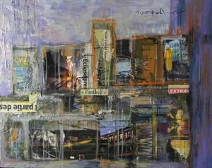 Sylvie SCHAMBILL - Peinture - Steel