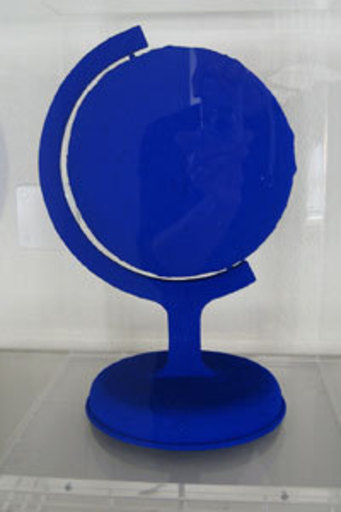 Yves KLEIN - Sculpture-Volume - La Terre bleue