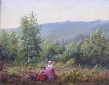 Jules François Achille AMBROISE - Pittura - le matin a villebon