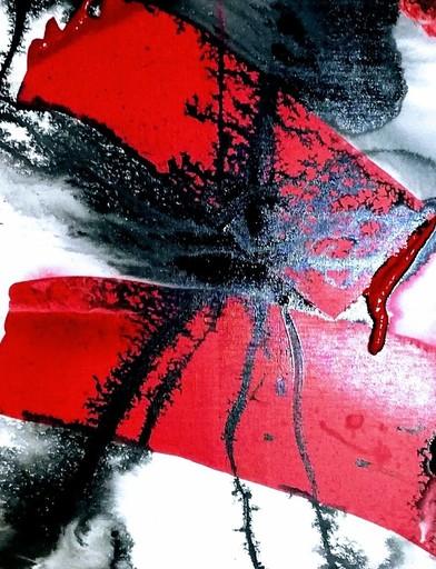 Mégui SANCHEZ - Peinture - Rouge