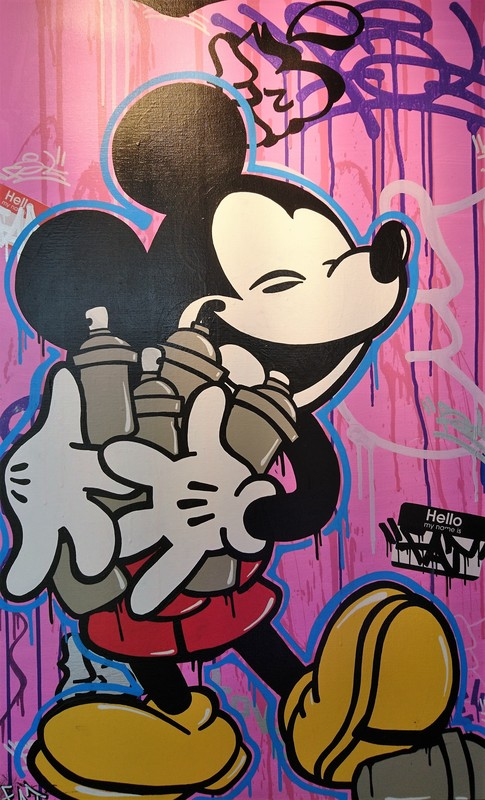 FAT - Painting - Mickey