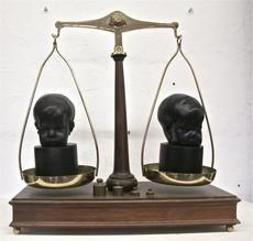 Wolfgang STILLER - Sculpture-Volume - TWINS ON SCALE