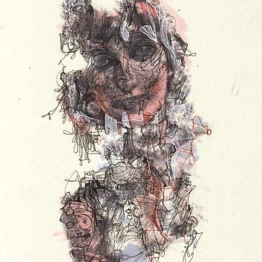 Michael ALAN - Drawing-Watercolor - Shaman