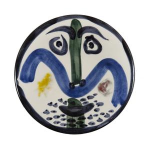 Pablo PICASSO - Ceramic - Visage n°130 (A.R.479)