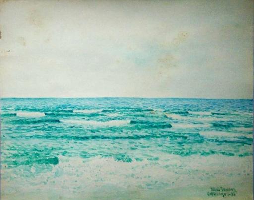 Tomás SANCHEZ - Drawing-Watercolor - Cayo Largo