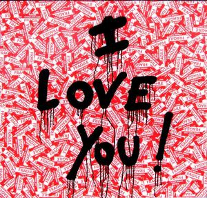MR BRAINWASH - Pittura - I LOVE YOU