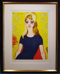 Kees VAN DONGEN - Stampa-Multiplo - Brigitte Bardot
