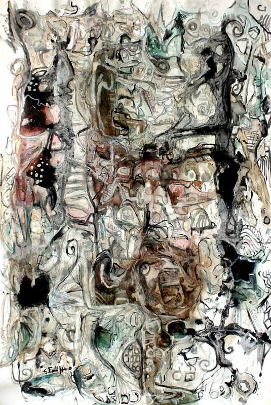 Saverio FILIOLI - Painting - Visioni interiori