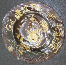 Salvador DALI - Sculpture-Volume - Ceci n'est pas une assiette