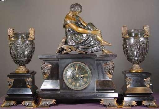 James PRADIER - Skulptur Volumen - Sappho