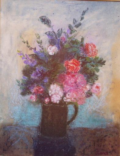 María Antonia DANS - Painting - florero