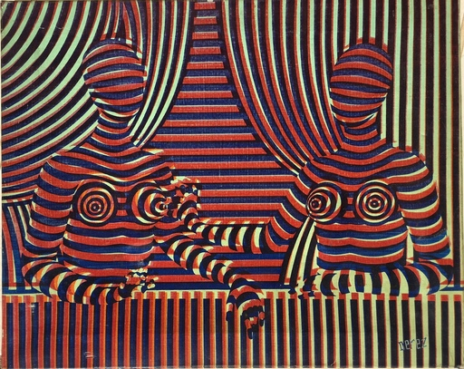 Alain DEREZ - Druckgrafik-Multiple - PIC &PIC &HOLOGRAMME