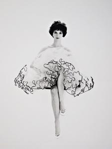 Franz Christian GUNDLACH - Fotografie - Polly in Petticoat