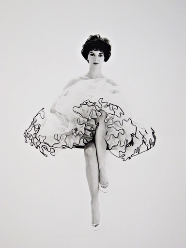 Franz Christian GUNDLACH - Photography - Polly in Petticoat