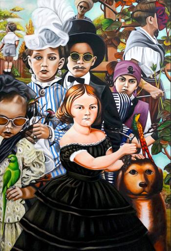 Karem ARRIETA - Painting - « Parades »