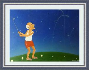 Roman ANTONOV - Pintura - Star golf