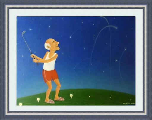 Roman ANTONOV - 绘画 - Star golf