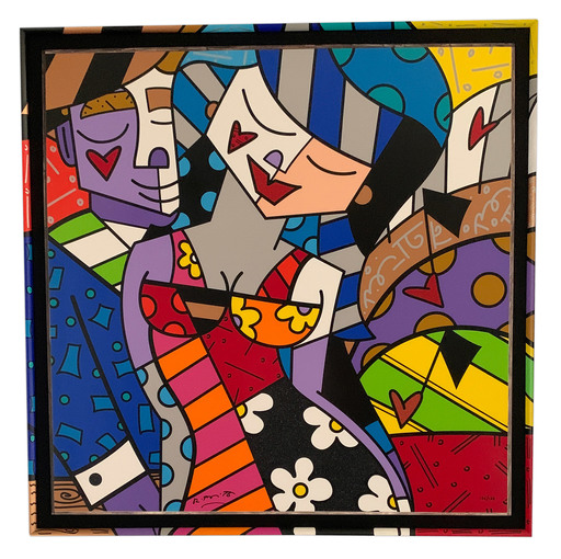 Romero BRITTO - Estampe-Multiple - Tonight