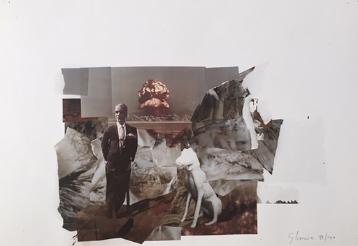 Adrian GHENIE - Grabado - Study for the devil 3