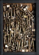 Fernandez ARMAN - Sculpture-Volume - Accumulazione di chiavi