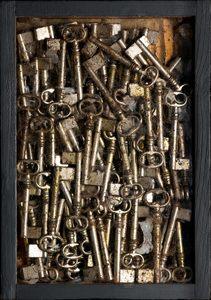 Fernandez ARMAN - Escultura - Accumulazione di chiavi