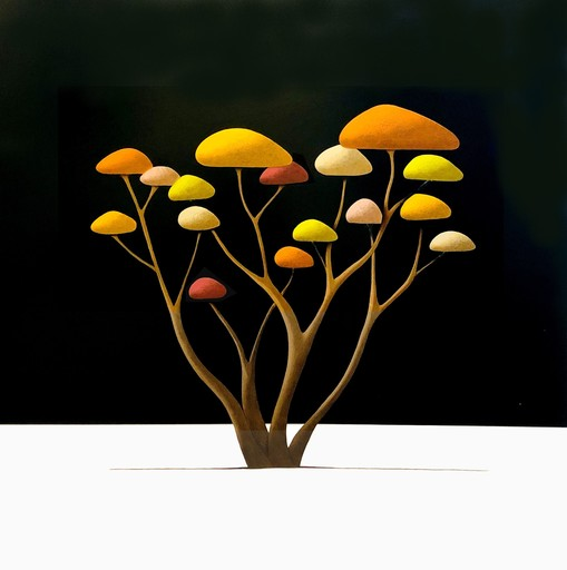 Laurent BOURO - Pintura - Sans titre 6.6.1