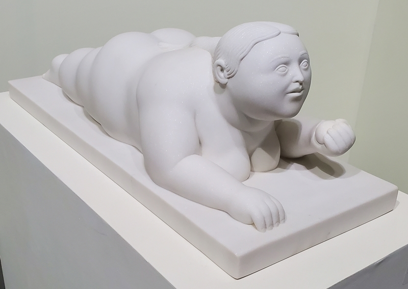Fernando BOTERO - Sculpture-Volume - Woman with Fruit