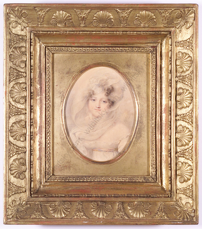 "Jean Baptiste ISABEY - Miniature - ""Princess Bagration"", 1817"