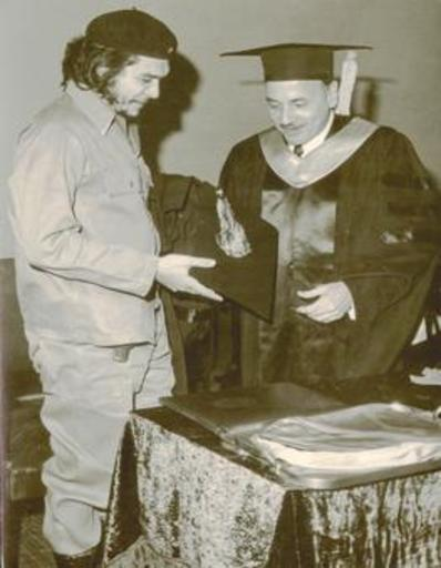 Alberto KORDA - Fotografia - (Che receives Doctor of Honor)
