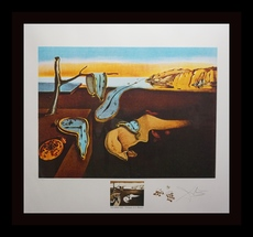 Salvador DALI - Print-Multiple - Changes in Great Masterpieces Persistence of Memory