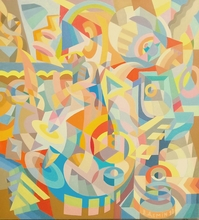 Victor DEMIN - Painting - The imperative movement.