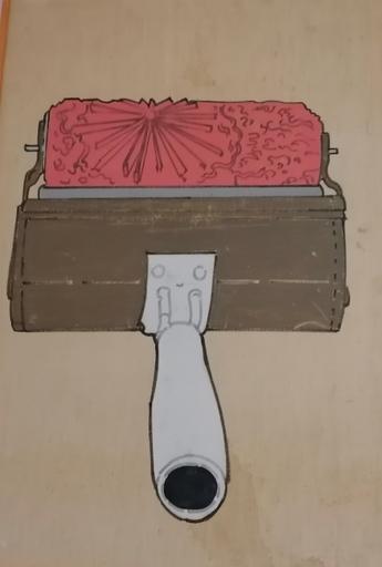 Renato MAMBOR - Pintura - senza titolo