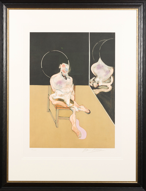 Francis BACON - Grabado - Seated Figure