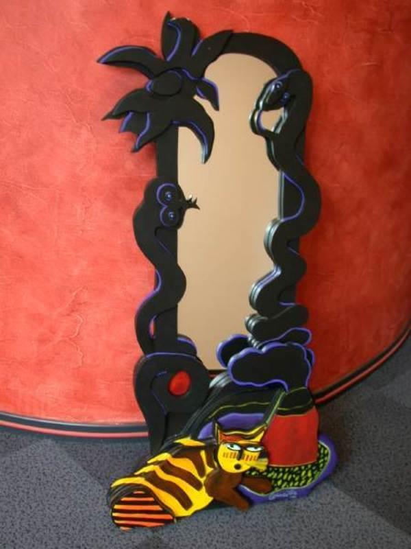 CORNEILLE - Scultura Volume - Miroir serpent
