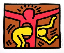 Keith HARING - Stampa Multiplo - Untitled IV