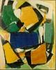 Michel CARRADE - Pintura - Terrier de clarté