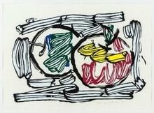 Roy LICHTENSTEIN - Print-Multiple - Two Apples