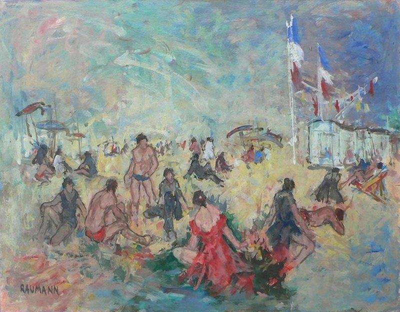 Joseph RAUMANN - Pintura - Arcachon