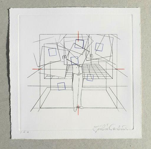 Giulio PAOLINI - Print-Multiple - Cinque esercizi di stile (tav. A)
