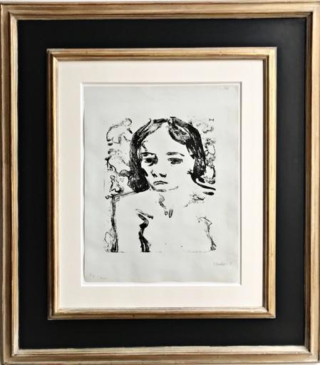 Erich HECKEL - Print-Multiple - Dreizehnjährige