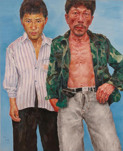 SHEN Hua - Painting - Manual Workers Series N°17