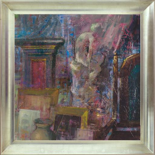 Renato CRISCUOLO - Pittura - In the studio