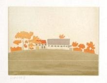 """Alex KATZ (1927) - """"House and Barn"""""""