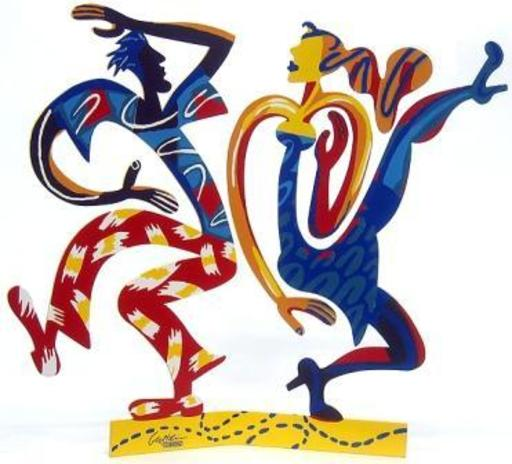 David GERSTEIN - Sculpture-Volume - Swingers