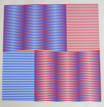 Carlos CRUZ-DIEZ - Grabado - Chromatic Induction 1