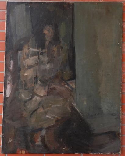 Aurél BERNATH - Painting - Woman