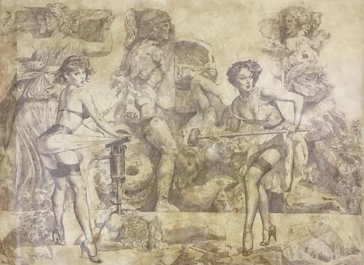 Vladimir KOLESNIKOV - Painting - Artemis