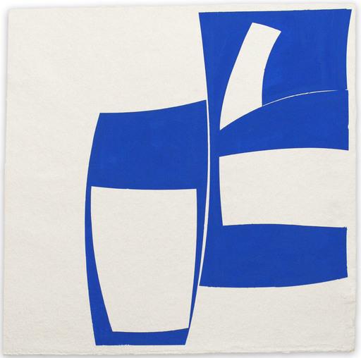 Joanne FREEMAN - Drawing-Watercolor - Covers 24 Blue