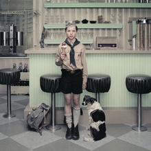 Erwin OLAF (1959) - RAIN: The Ice Cream Parlor
